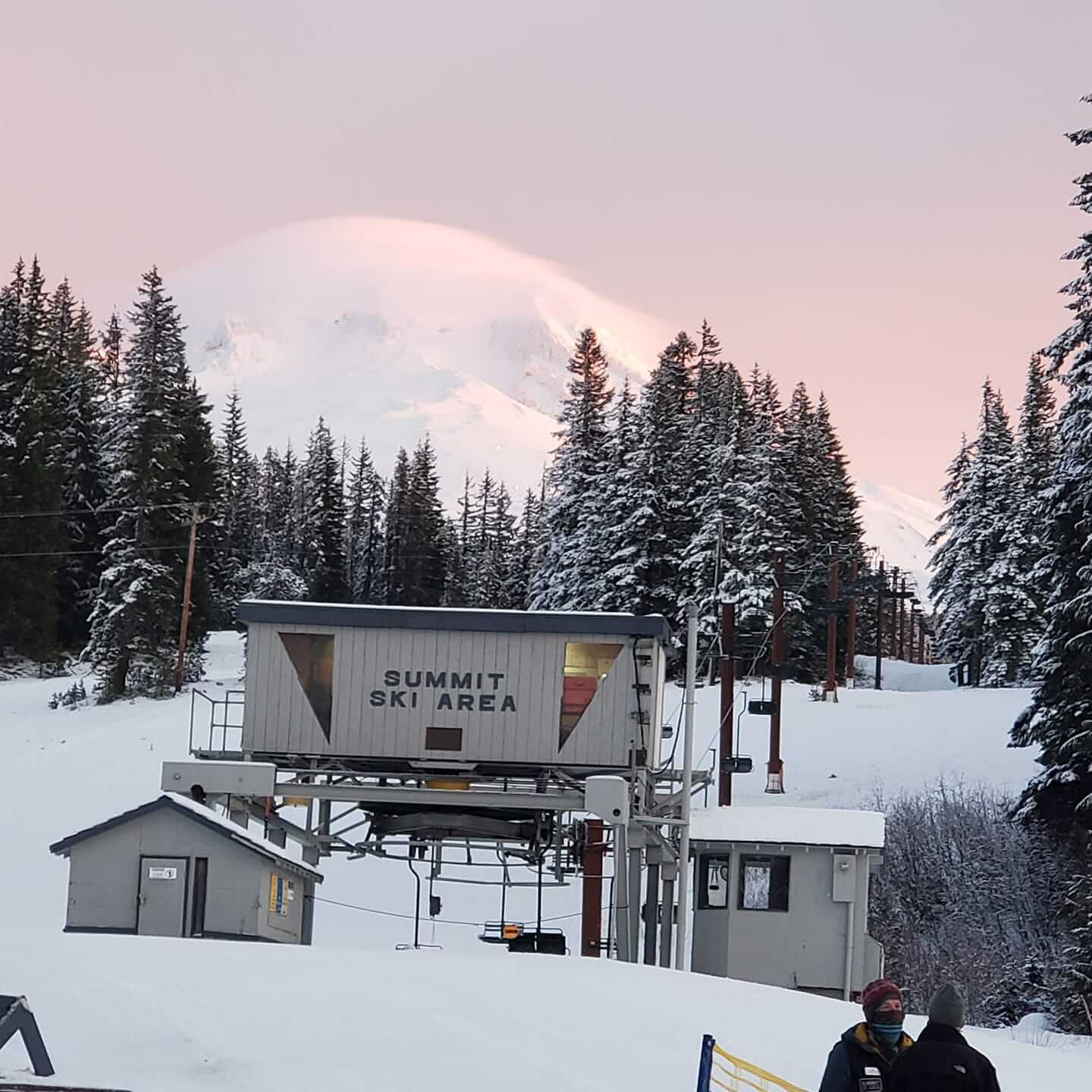 2nd oldest ski area in US is one of the resorts for skiing near Portland Oregon