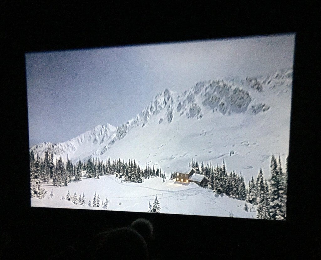 Cabin in Mountains from Premiere of Tight Loose & Movie Review