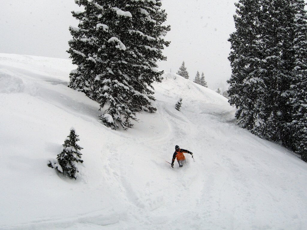 Biggest snowstorms at Ski Resorts Alta Ski Resort Powder Day
