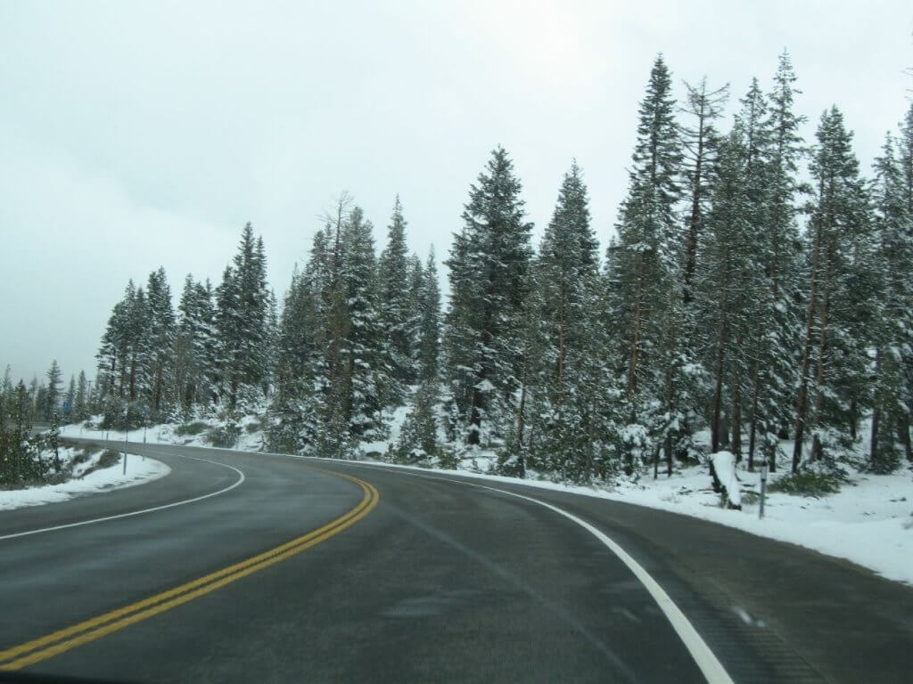 Most Dangerous Roads to Ski Resorts Mt Rose Highway