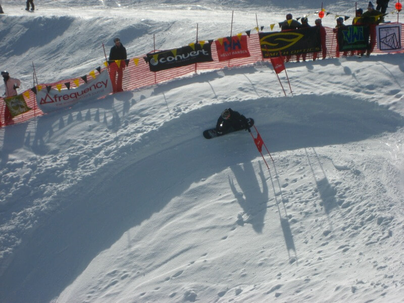Mt Baker Banked Slalom - Turn 1