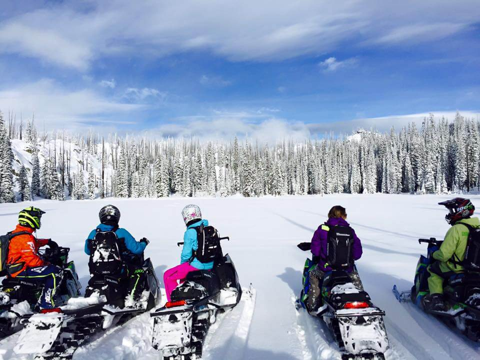 Skiing in Idaho Snowmobiling McCall