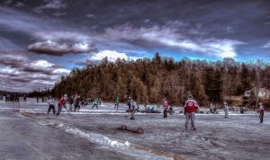 Colchester Vermont Lake Champlain Pond Hockey Classic