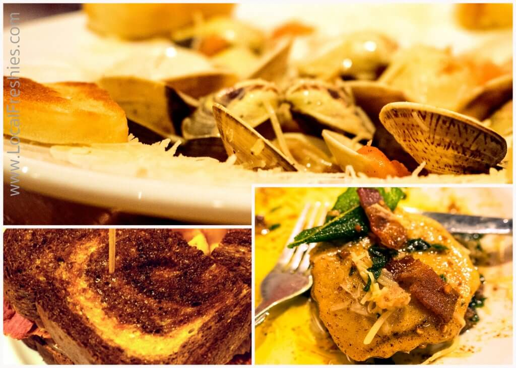 Wallace City Limits Brew Pub & Grill Food Collage