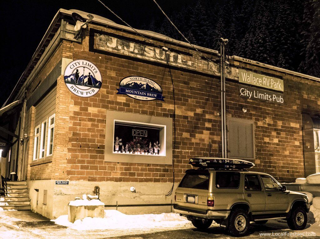 Wallace North Idaho Mountain Brew 4Runner