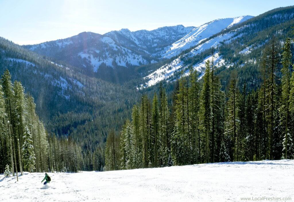 Lookout Pass Ski Resort St Regis Basin Winter Idaho