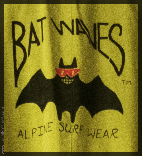 Bat Waves Alpine Surf Wear Wallace