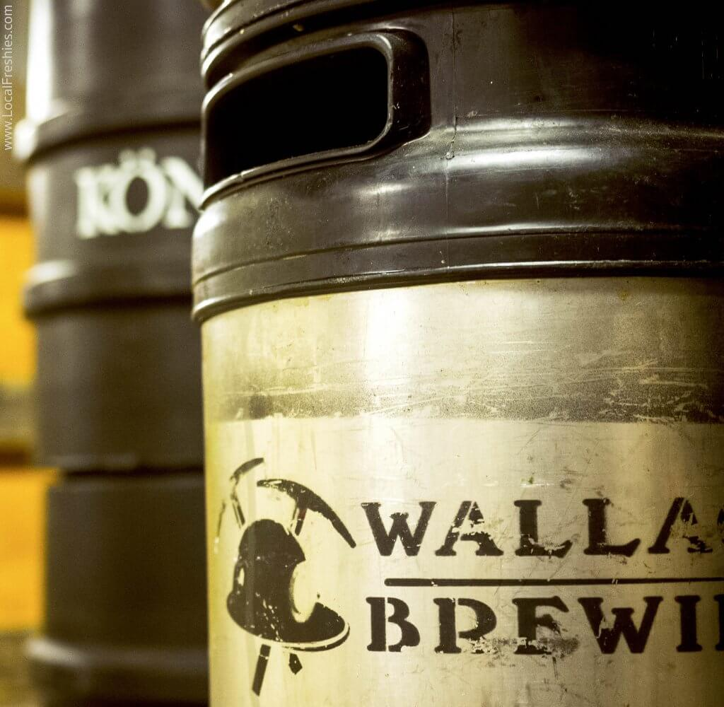 Wallace Brewing Idaho Keg