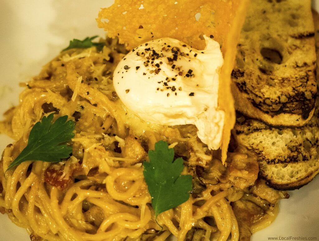 Silver Mountain Things to Do Fainting Goat Carbonera Pasta