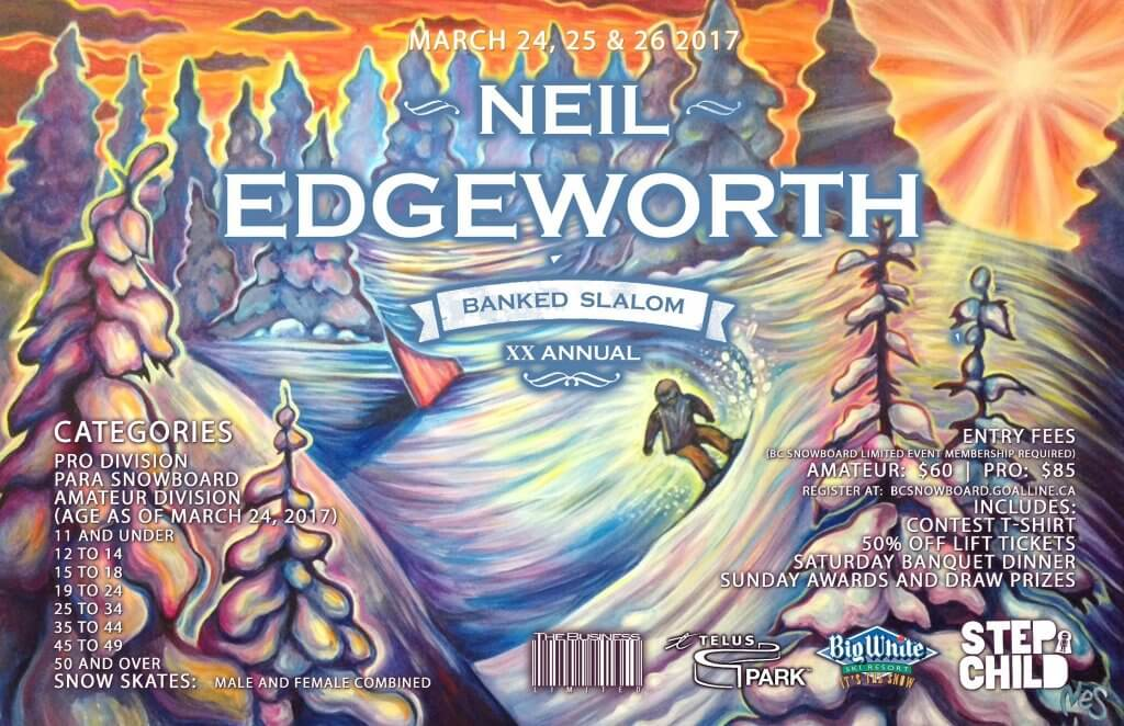 20th annual Neil Edgeworth Memorial Banked Slalom Big White Ski Resort