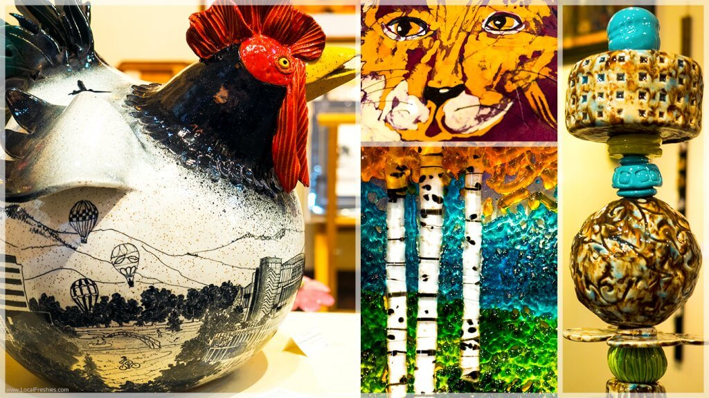 McCall Idaho Brundage Burgdorf Hot Springs Art Gallery 55 sculptures painting
