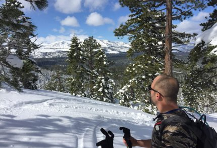 Trimmer Peak South Lake Tahoe Winter