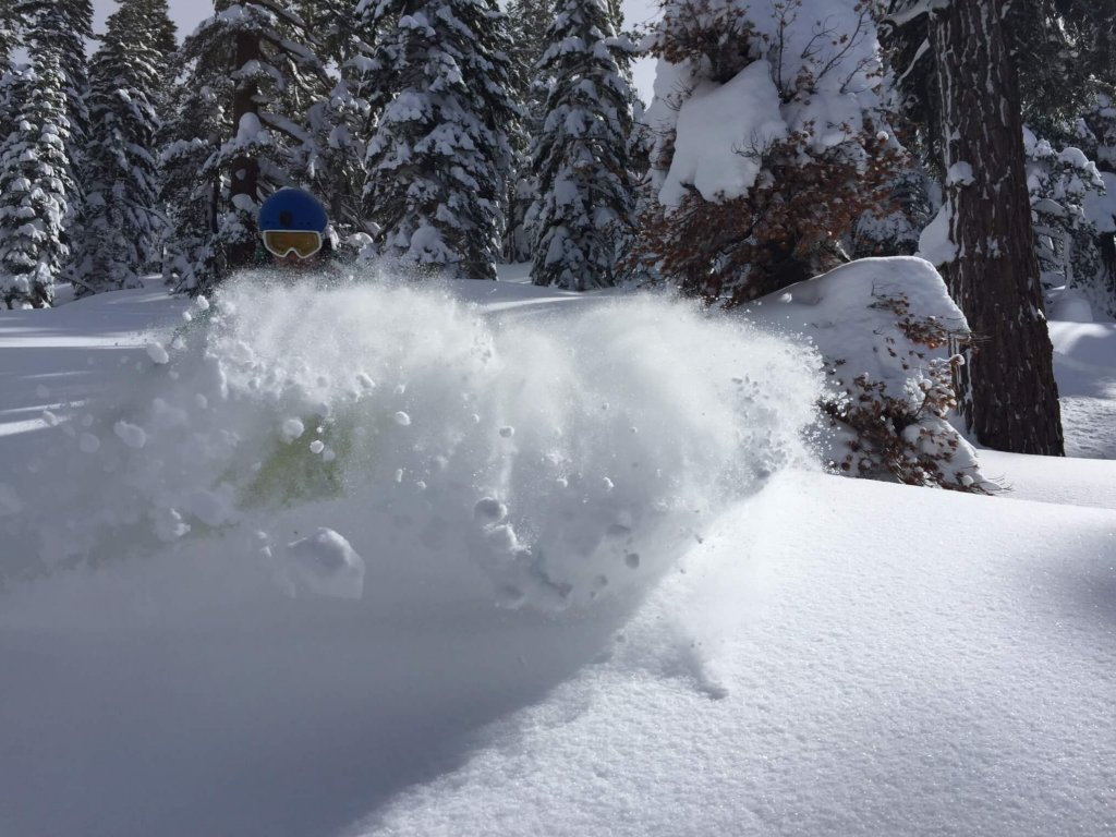 Trimmer Peak Pow Slash Sunshine South Lake Tahoe