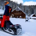 McCall Idaho Brundage Burgdorf Hot Springs Snowmobiling Entrance