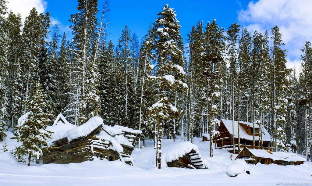 McCall Idaho Brundage Burgdorf Hot Springs Cabins Winter
