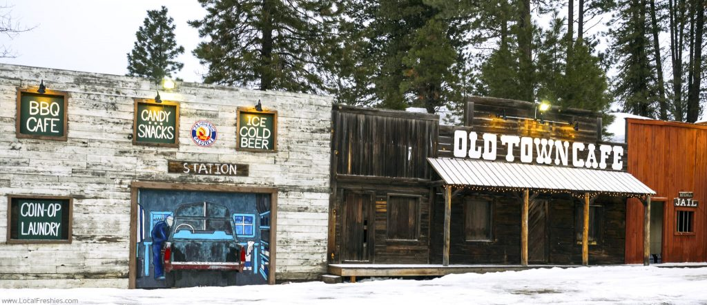 Brundage McCall Old Town Cafe Gas Station Exterior