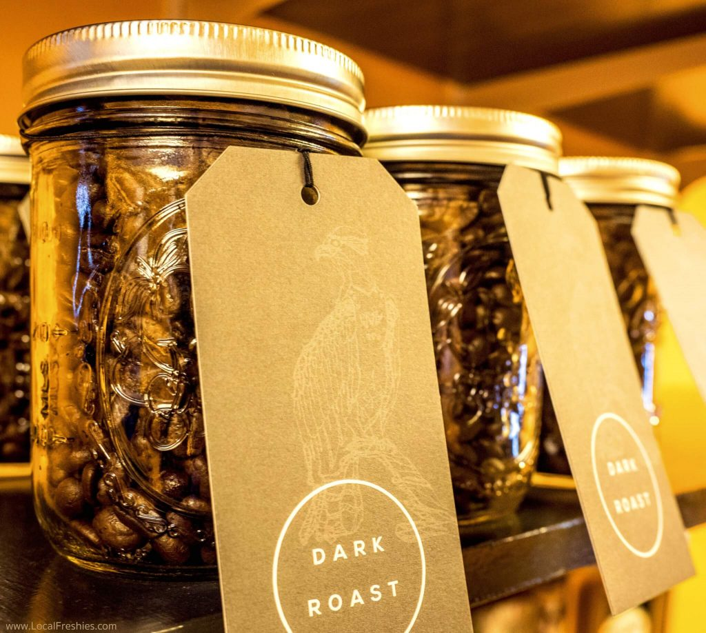 Brundage McCall North Fork Coffee Roasters Coffee Jars