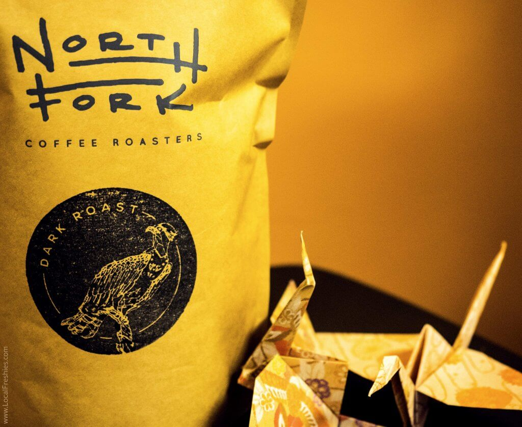 Brundage McCall North Fork Coffee Roasters River Bird Coffee Bag