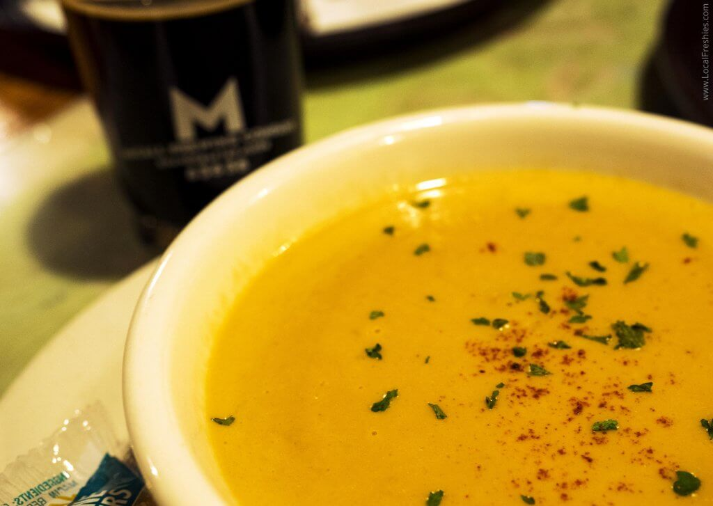 McCall Idaho Burgdorf Hot Springs Beer Cheese Soup