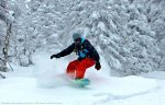 Knee Deep Powder at Brundage Ski Resort