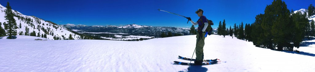 Lake Tahoe Backcountry spring skiing red lake peak carson pass corn snow april