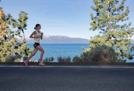 Decelle Memorial Lake Tahoe Relay stunning vews