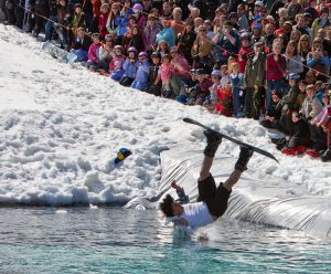 Sugarbush Vermont best pond skim spring skiing