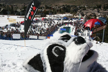 Spring Back to Vail Colorado Best Pond Skimming Events spring skiing