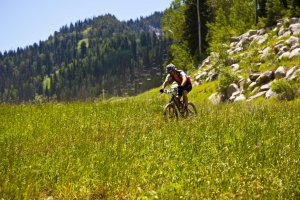 best Mountain Bike Racing Series in the US Utah I-Cup Solitude Ski Resort Summer