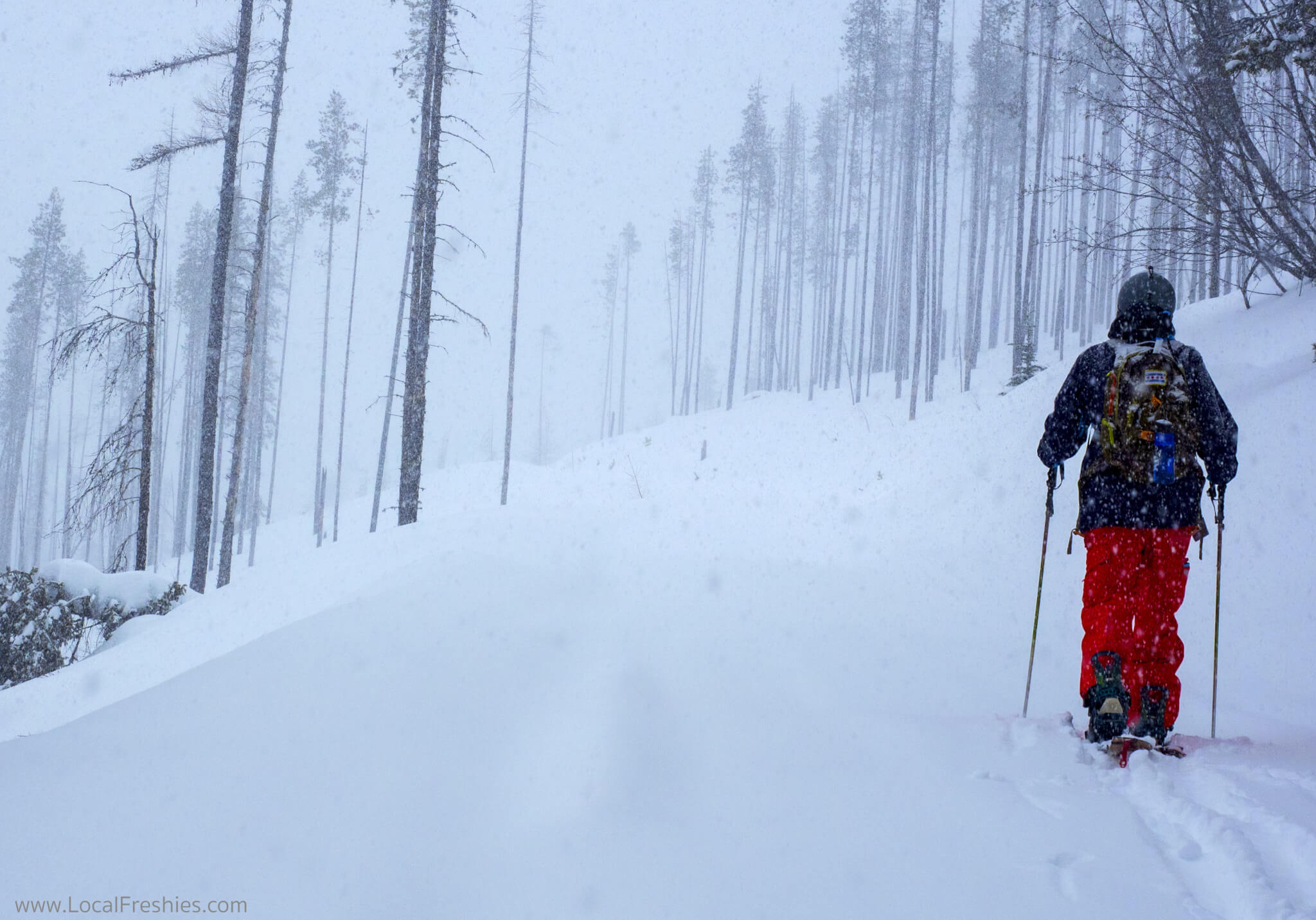Lookout Pass expansion backcountry splitboarding