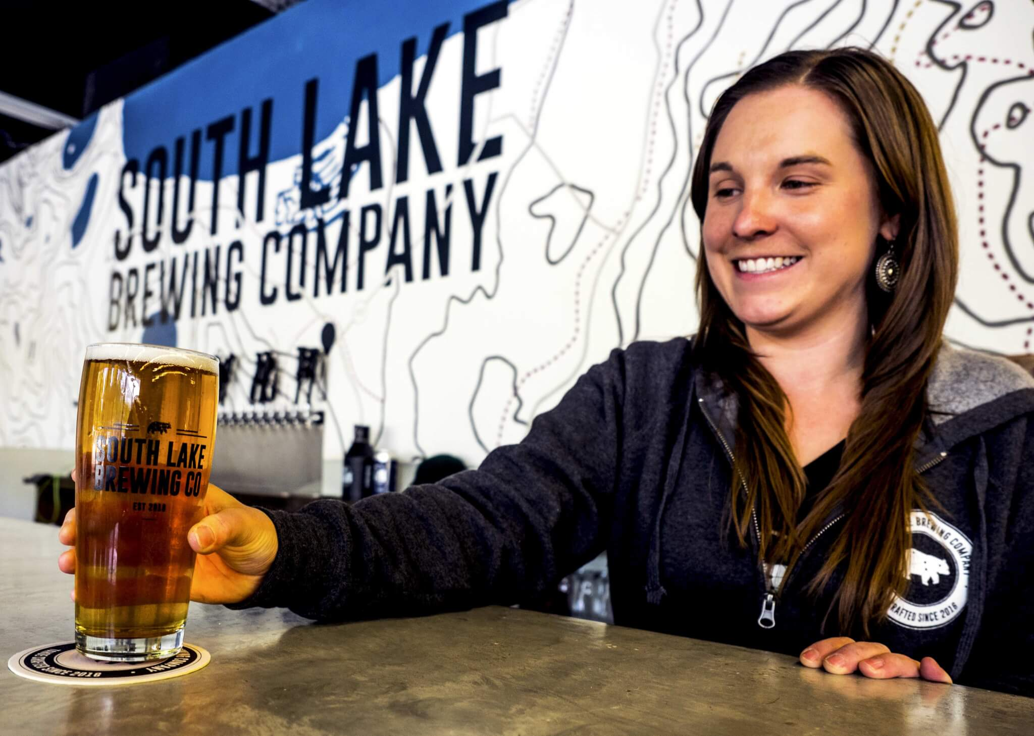 South Lake Brewing South Lake Tahoe Nicole co-owner