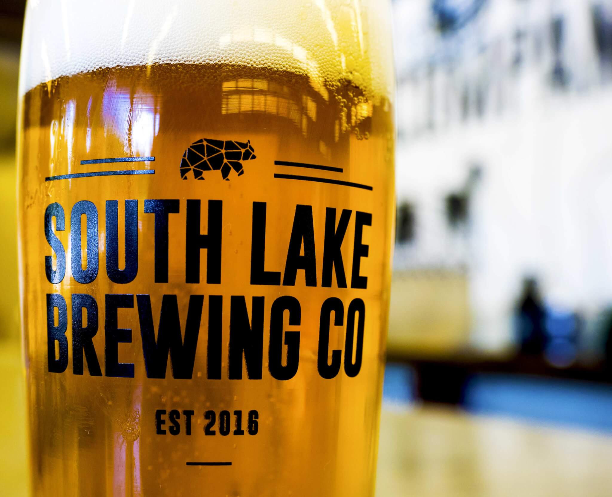 South Lake Brewing Pint Glass South Lake Tahoe