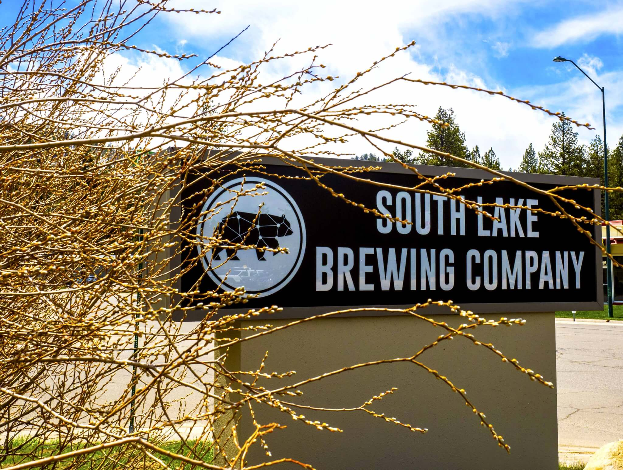 South Lake Brewing South Lake Tahoe New Sign