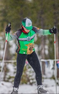 nordic skiing segment at Mt Bachelor for the Pole Pedal Paddle Bend race