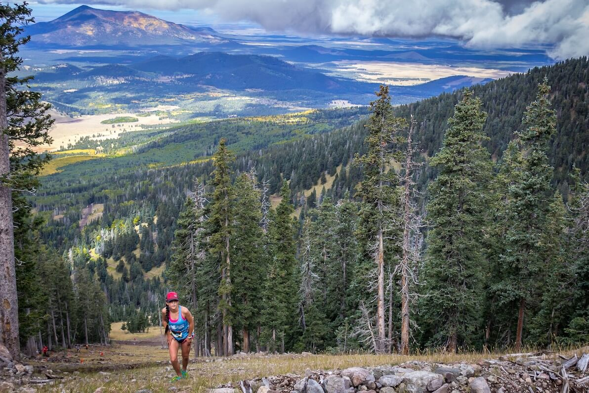 Best Trail Running Races in the US Flagstaff Sky Race SkyRace Arizona Snowbowl United States