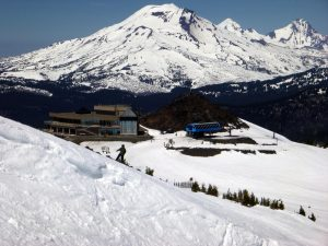 Bend Oregon Pacific Northwest Skiing Snowboarding Volcano Mt Bachelor Resort Road Tripping