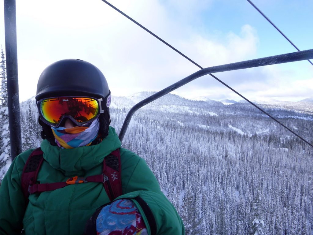 Flower Point Whitefish Mountain Resort Montana Skiing