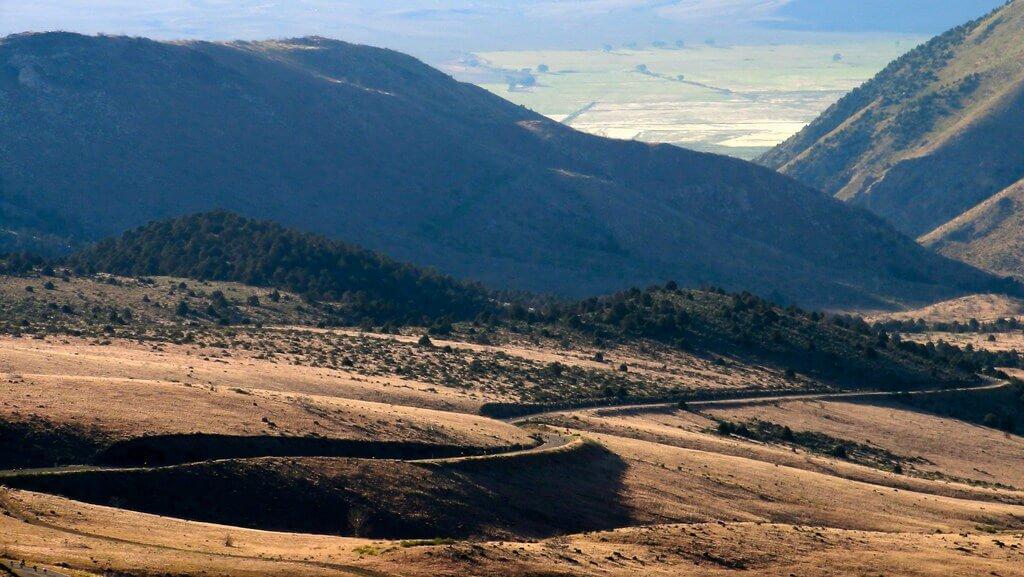 Death Ride 2017 California Road Bike Race Monitor Pass Summer Scenic View