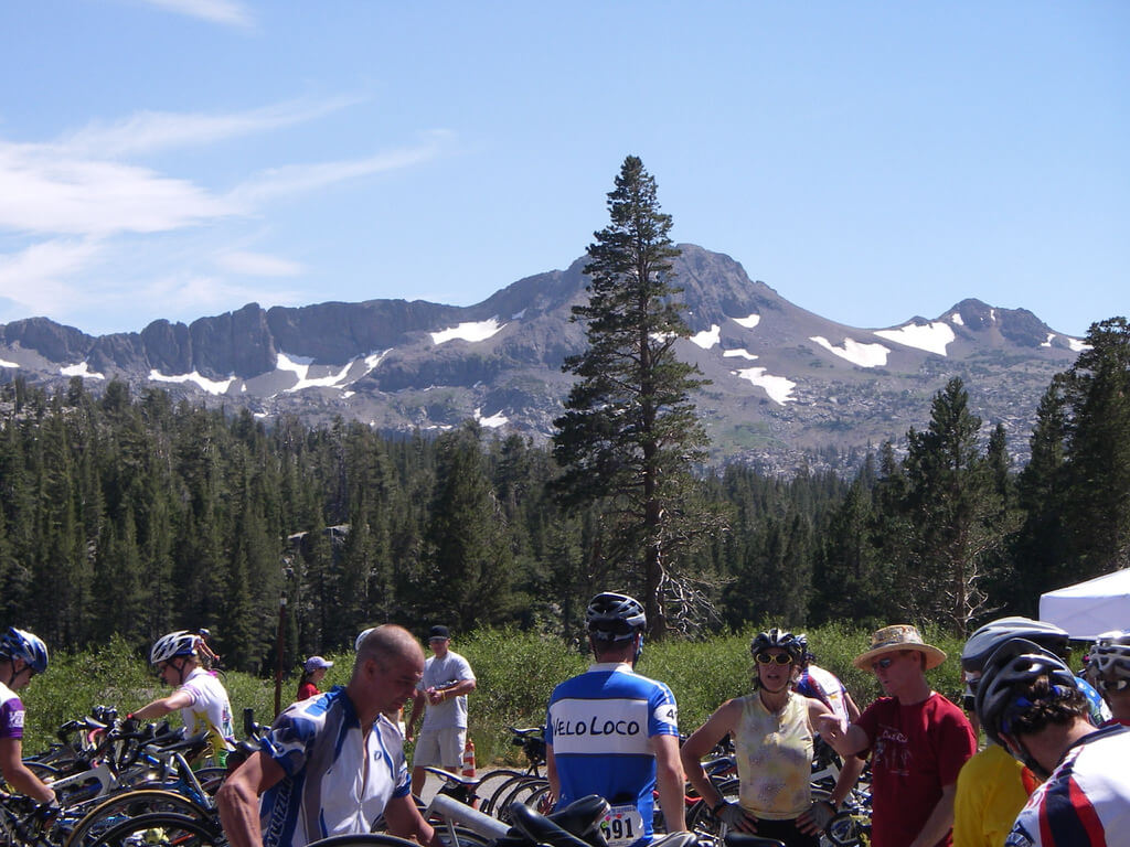 Death Ride 2017 California Road Bike Race Hope Valley Scenic View