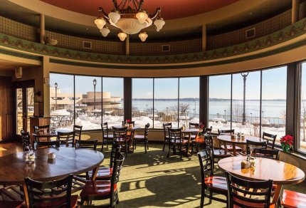 Paisan's Madison Wisconsin View Lake Manona