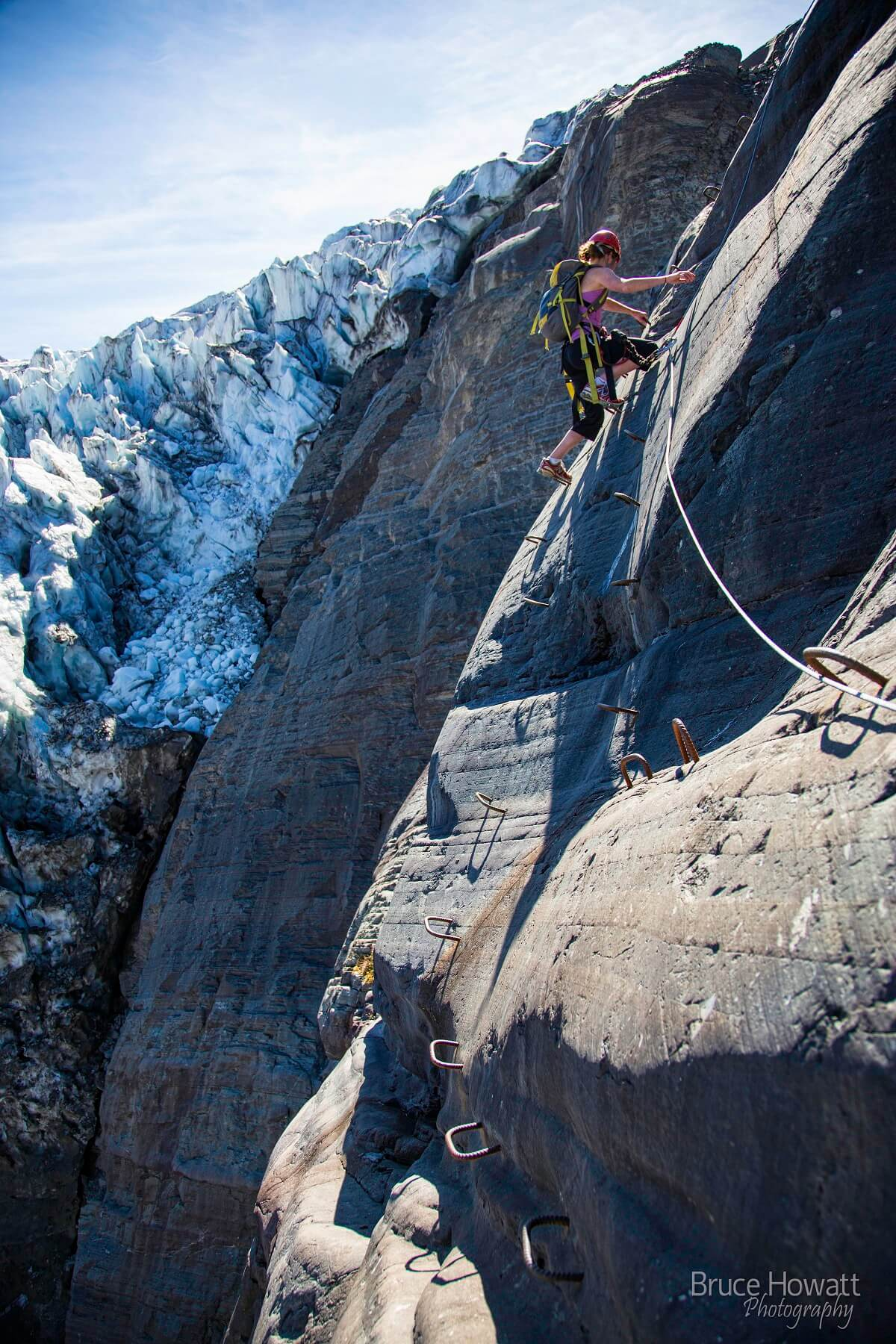 best via ferrata in North America CMH Canadian Mountain Holidays