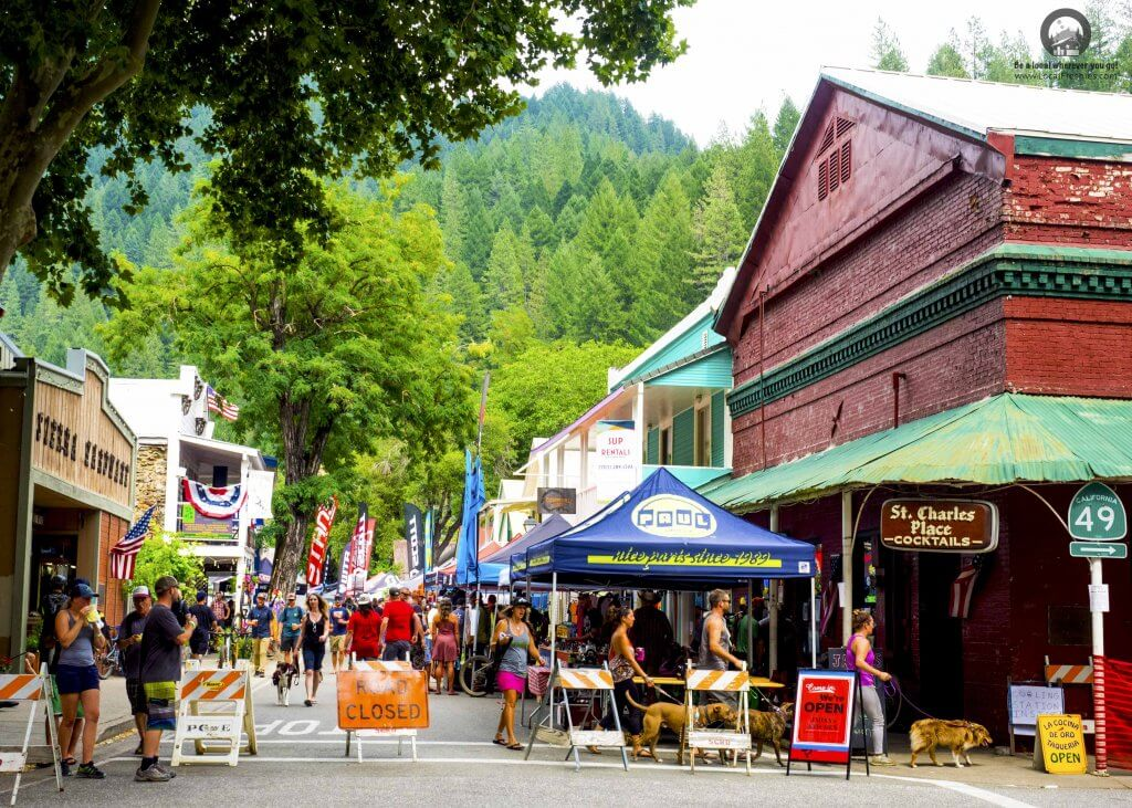 Downtown Downieville Classic Recap 2017 Paul Components Tent St Charles Place