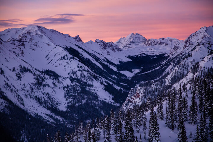 History of Snowmass Sunset Rockies