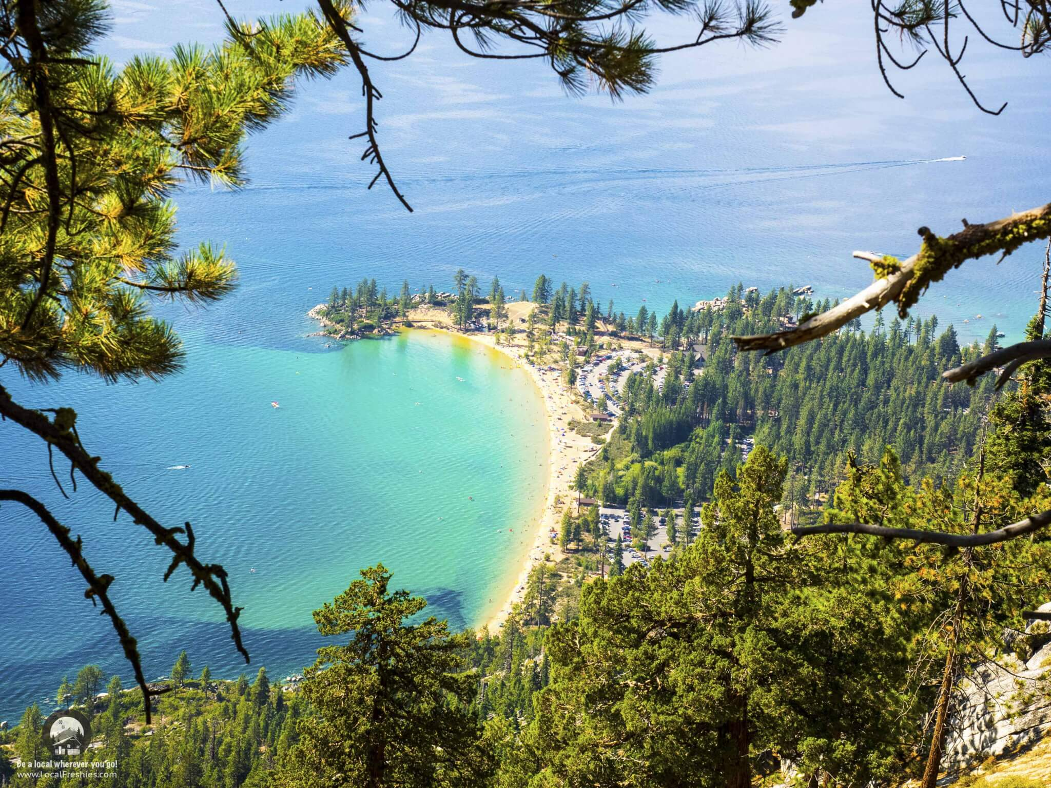 What to expect on the Tahoe Flume Trail Lake Tahoe Sand Harbor Beach