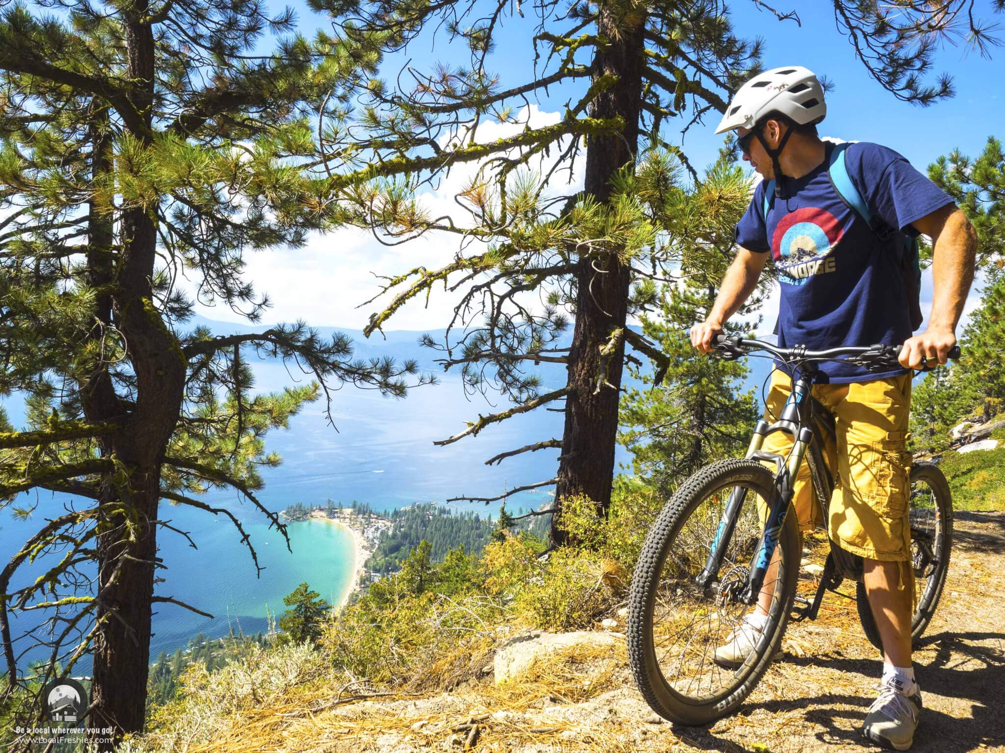 What to expect on the Tahoe Flume Trail Sand Harbor Mountain Biking