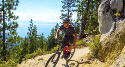What to expect on the Tahoe Flume Trail Lake Tahoe Mountain Biking