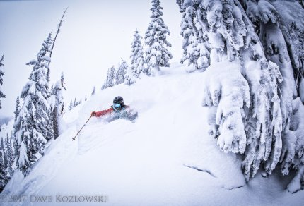 Academy of Skiing Scot Chrisman powder day backcountry