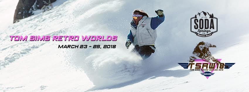 Grassroots Snowboard Contest Tom Sims Retro Worlds 2018 Soda Springs