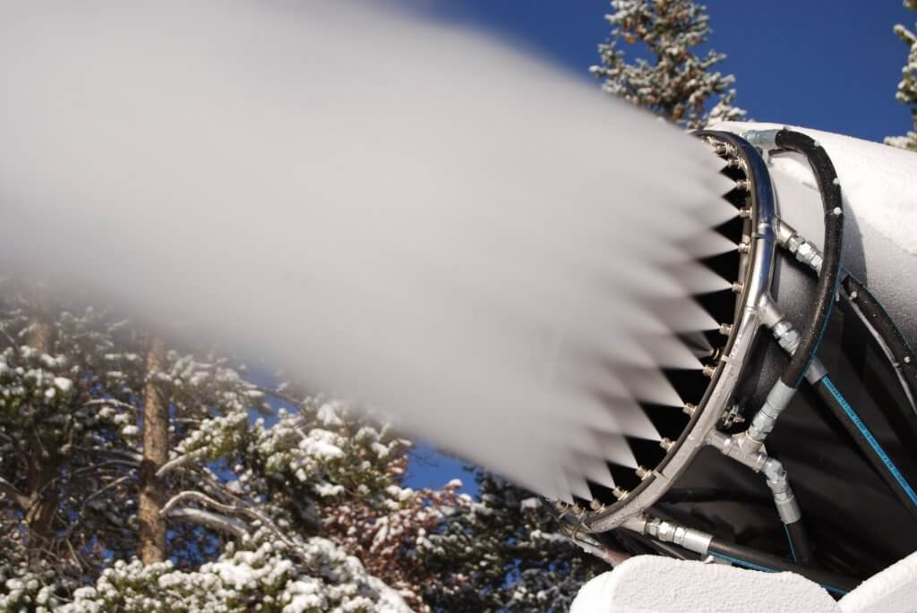 largest snowmaking systems in North America Breckenridge