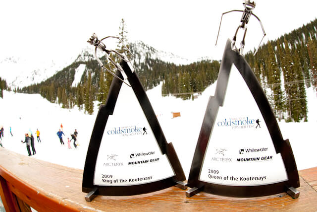 undergound ski events whitewater mountain gear award